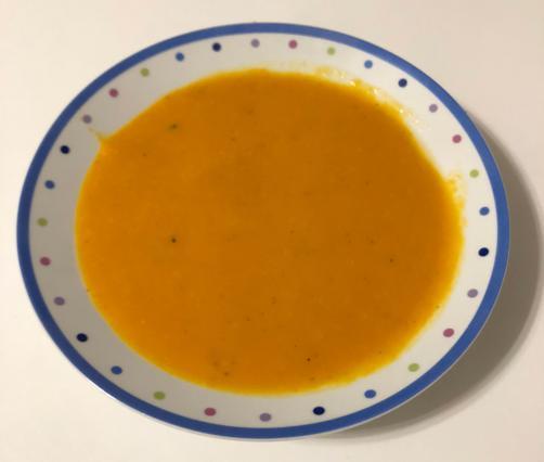 Suppe aus Butterkürbis