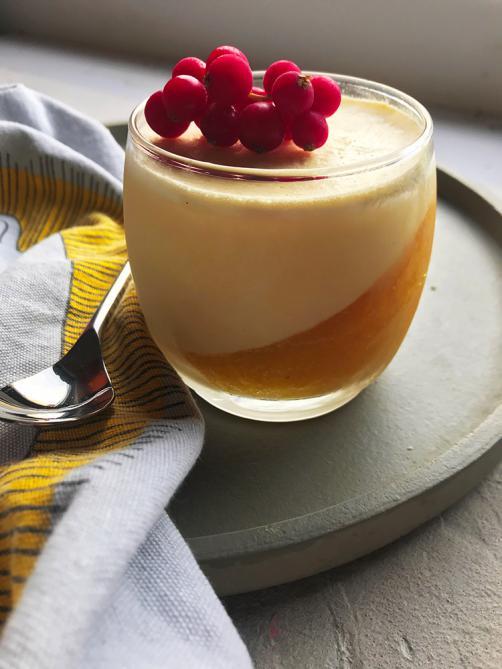 Mangovo-vanilijeva strnjenka