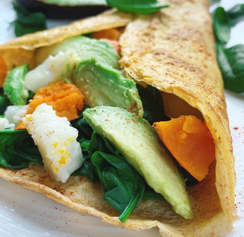 Zelenjavna tortilja