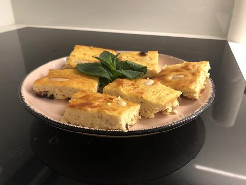 Kolač sa svježim sirom (bez brašna)