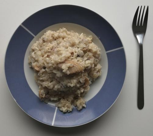 Čudežni riž s šampinjoni