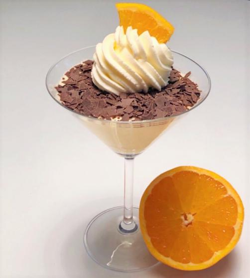 Pomarančni mousse (brez glutena)
