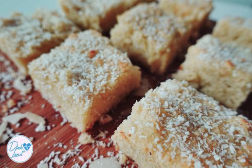 LCHF Kokos-Brownies
