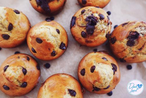 Amerikanische Protein Muffins