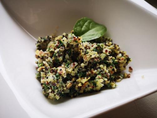 Puhasta omleta s kvinojo