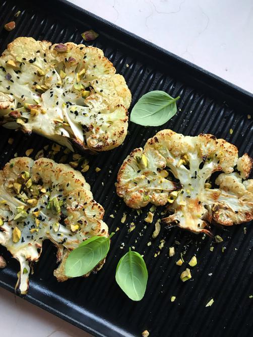 Blumenkohl aus dem Ofen