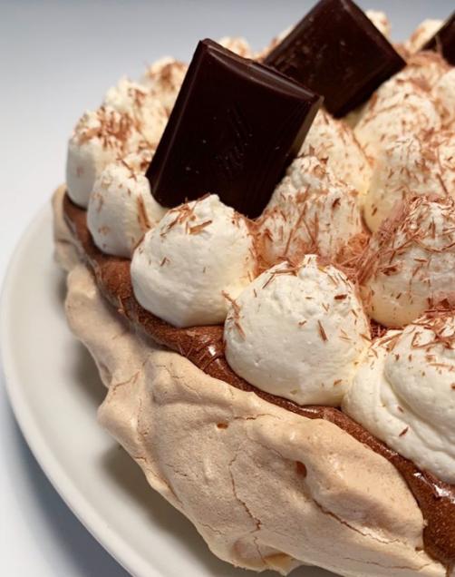 Čokoladna torta Pavlova brez glutena