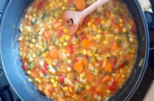 Schnelle Gemüsesoße