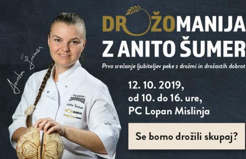 Vabilo na dogodek Drožomanija 12.10.2019