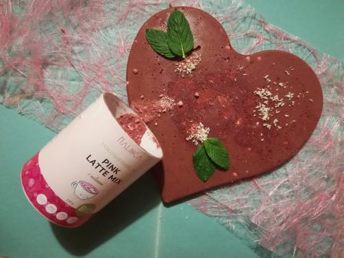 Pink latte mix čokolada