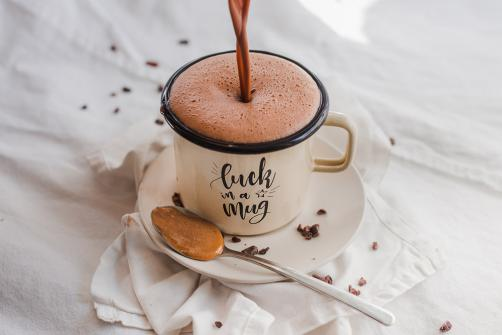 Kakao s maslacem od kikirikija