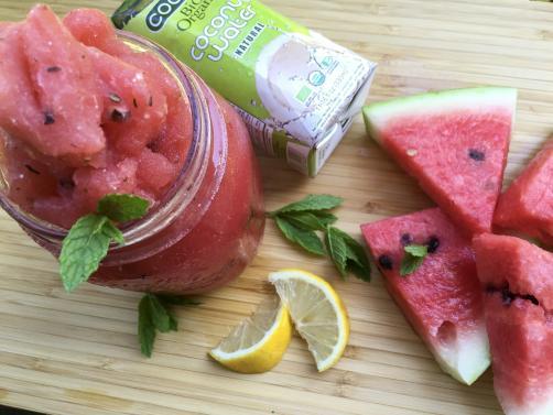 Wassermelone-Slush