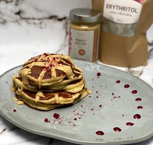 Protein Pfannkuchen ohne Proteinpulver