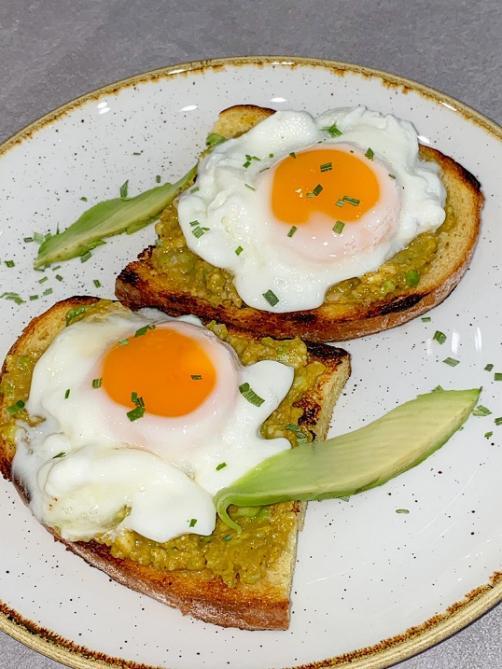 Klassisches Frühstück – Eier (aus der Mikrowelle)