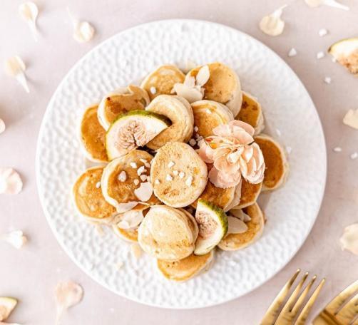 Mini-Bananenpfannkuchen