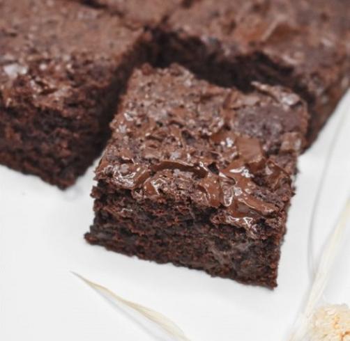 Gesunde amerikanische Brownies