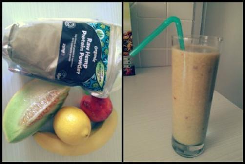 Shake s konopljinimi proteini