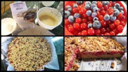 Kolač s bobičastim voćem