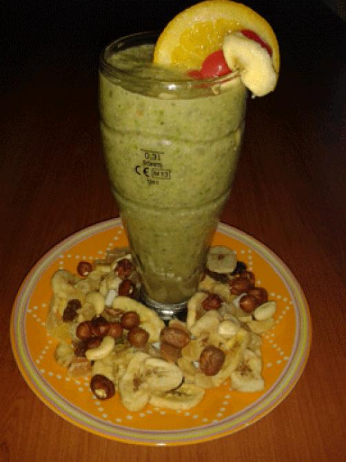 Smoothie grožđe - banana
