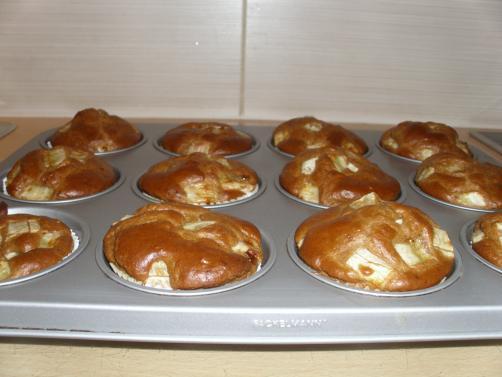 Muffini banana i goji bobice