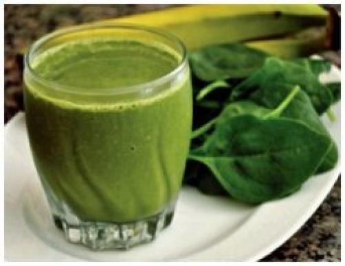 Zelen smoothi za moč