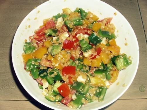 Salata s lećom