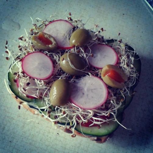 Polnozrnat sendvič