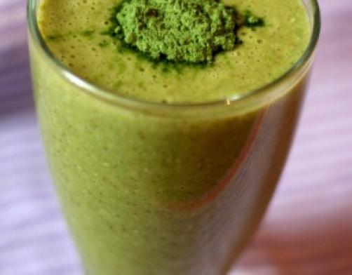 Zeleni mix za doručak i čišćenje tijela