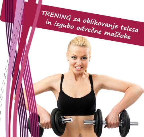 Trening za izgubo odvečne maščobe