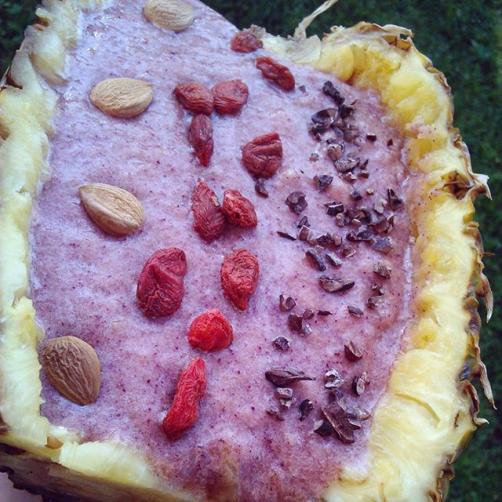 Ananasov smoothie