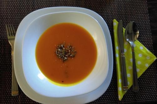 Jesenska juha iz hokaido buče