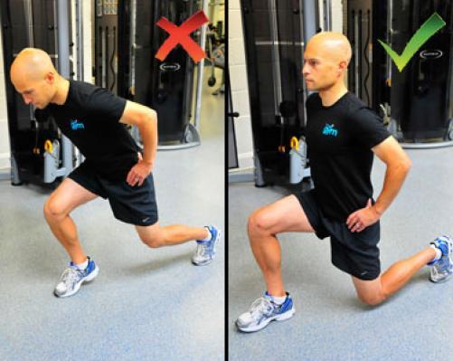 Pravilna tehnika za učinkovit trening