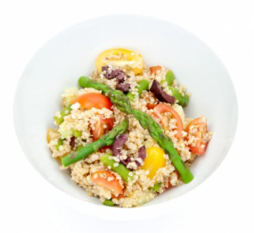 Proljetna salata od kvinoje