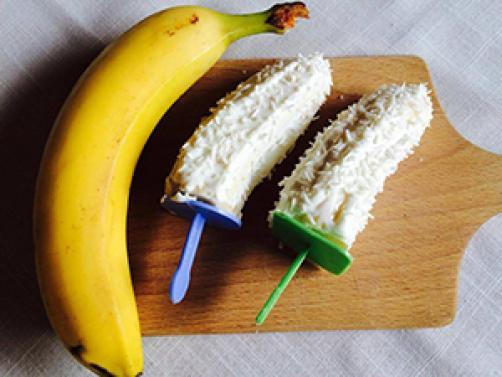 Bananina lučka iz treh sestavin