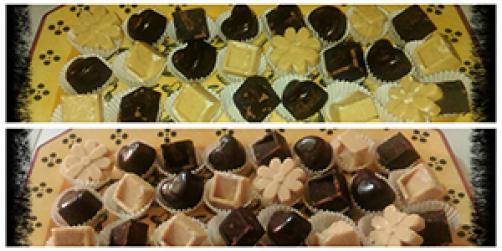 Čokolada ovita z ljubeznijo