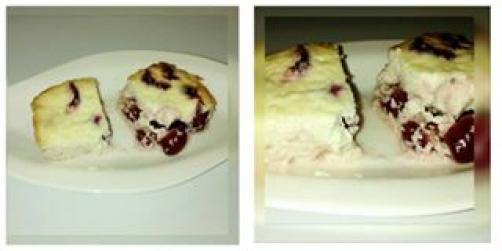 Češnjev cheesecake