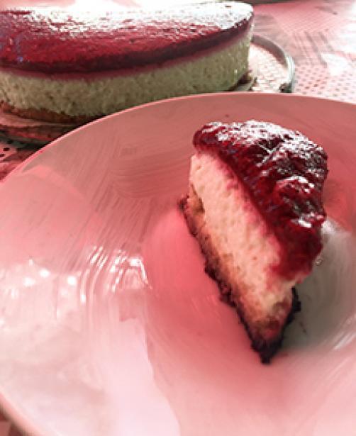 Poletna osvežilna tortica