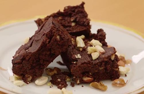 Čokoladne šnite s miješanim oraščićima