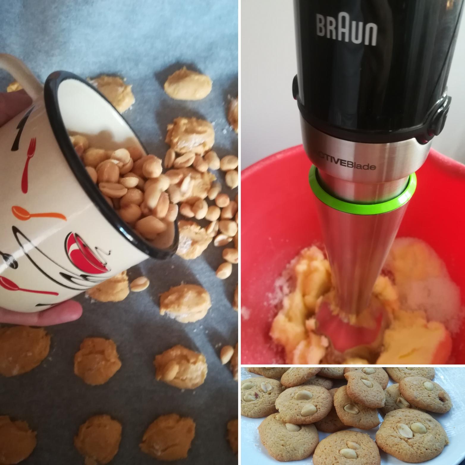 Arašidovi sladko-slani piškoti