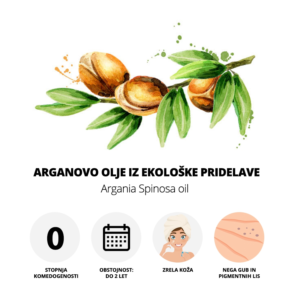 Arganovo olje iz ekološke pridelave