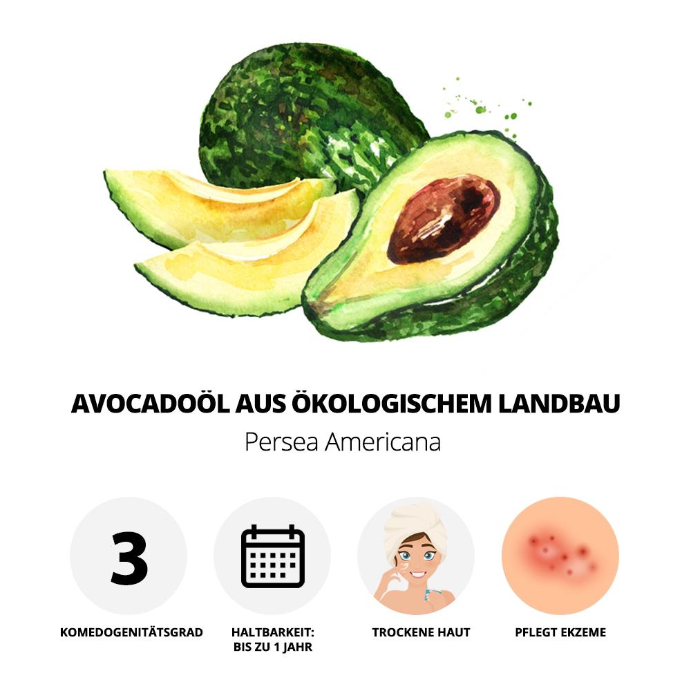 Vorteile des Avocadoöls