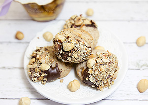 Čokoladno lešnikovi piškotki