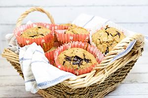 Holesterolu prijazni muffini
