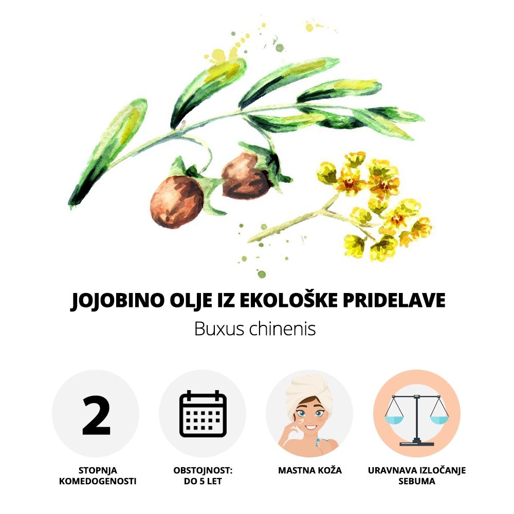 Jojobino olje iz ekološke pridelave