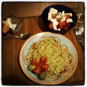 polnozrnati spageti