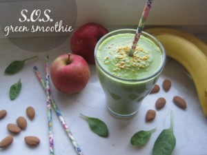 sos smoothie green