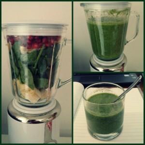 Osvežujoč zelen smoothie