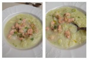 Kremna koromačeva juha z lososom2