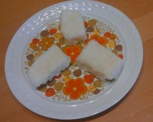 ''Izi'' kokosove kocke brez pečenja