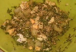 Regratova solata s krompirjem